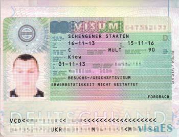 шенгеская виза